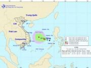 Tin tức - Xuất hiện áp thấp nhiệt đới mới trên biển Đông