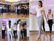 Thời trang - Phạm Hương, Lan Khuê nghiêm khắc với thí sinh trễ giờ