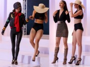 Thời trang - Sự thực về trình độ catwalk của Phạm Hương, Hà Hồ, Lan Khuê