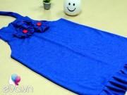 Thời trang - Video: Chế váy cũ của mẹ thành váy xinh yêu cho con gái