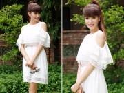 Thời trang Sao - Á hậu Băng Châu tươi xinh như thiếu nữ