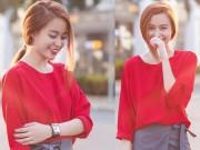 Thời trang - Sao Việt tuần qua: Hoàng Thuỳ Linh mặc gì cũng xinh yêu!