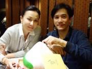 Bất chấp tin ly thân, Lương Triều Vỹ - Lưu Gia Linh vẫn đón sinh nhật bên nhau