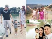 Sao Việt khoe ảnh gia đình chứng minh hạnh phúc