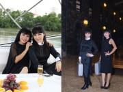Trang Nhung rủ Phương Thanh thư giãn du thuyền 5 sao