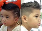 """Làm mẹ - 3 kiểu tóc cực hot cho bé trai """"bảnh"""" như soái ca hè 2016"""