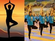 Tín đồ yoga Hà Nội nhộn nhịp hội tụ và khoe tài