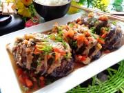 Bếp Eva - Cà tím nhồi thịt ngon cơm ngày mát trời
