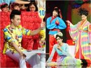 Trấn Thành thích thú với thí sinh giả gái dùng hit của Hồ Ngọc Hà