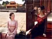 Làng sao - Hoa hậu Thu Hoài đẹp hút hồn giữa Kinh thành Huế