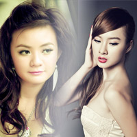 Xun Mai v Phng Trinh l hai hotgirl ni ting showbiz Vit
