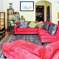 Phòng khách trong nhà