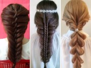 Làm đẹp - Hướng dẫn tết 3 kiểu tóc xinh yêu chàng nào cũng mê mẩn