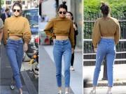 Làng sao - Em gái Kim Kardashian khoe vòng eo con kiến