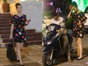 Làng sao - Nữ hoàng Trang sức Thanh Trúc đi xe ôm về sau sự kiện