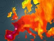 Tin tức - Người dân châu Âu khốn khổ vì nắng nóng kỷ lục