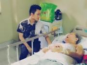 Làng sao - Tùng Dương xúc động đến thăm nhạc sỹ Hoàng Vân