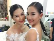 Vợ Duy Nhân bất ngờ làm người mẫu váy cưới