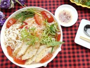 Bếp Eva - Lạ miệng với bún chả cá thu