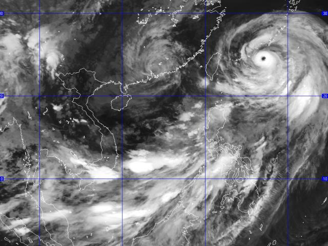 Bão số 2 suy yếu thành áp thấp nhiệt đới trên biển Đông