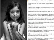 13 qui tắc bảo vệ trẻ khỏi lạm dụng tình dục gây xôn xao