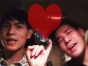 Eva Yêu - Cặp trai đẹp đồng tính hát trong ô tô hết sức đáng yêu