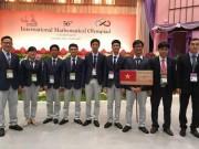 Cả 6 thí sinh Việt Nam dự thi Olympic Toán đều đạt giải cao
