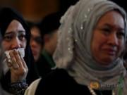 Nước mắt rơi trong ngày tưởng niệm nạn nhân MH17
