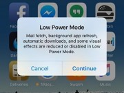Eva Sành điệu - Cách tiết kiệm pin cho iPhone, iPad chạy iOS 9