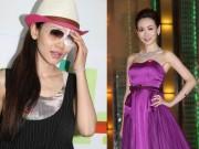 Làm đẹp - Cựu Hoa hậu Hồng Kông hỏng mắt vì đeo kính áp tròng
