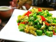 Bếp Eva - Đậu bắp xào trứng đơn giản, ngon cơm