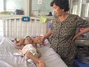 Tin tức - Điều tra vụ cha dượng đạp vỡ đại tràng bé 3 tuổi