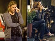 Jennifer Garner lặng lẽ khóc sau khi ly hôn