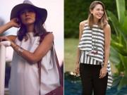 Thời trang bầu bí đẹp  & quot;mê đắm & quot; của siêu mẫu Hong Kong