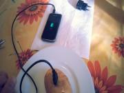 Clip Eva - Sạc pin điện thoại chỉ với  một củ khoai tây