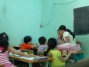 Giáo dục - Dạy thêm trước khi vào lớp 1: Cấm cứ cấm, dạy cứ dạy