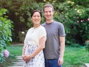 Bà bầu - Ông chủ Facebook khoe ảnh vợ mang bầu sau 3 lần sảy thai