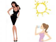 Làm đẹp - Những mẹo giảm cân kì lạ