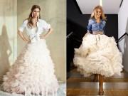 Thời trang - Áo cưới sơ mi - cô dâu nào dám mặc?