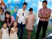 Hồng Đăng, Diệp Chi tươi tắn bên gia đình tại ngày hội cao khỏe