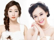 Làm đẹp - Hướng dẫn tết 6 kiểu tóc cô dâu đẹp lung linh trong mùa cưới
