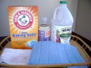 Nhà đẹp - Dùng bột làm bánh thông cống, vệ sinh bồn cầu an toàn