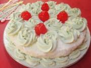 Bếp Eva - Bánh gato kem trà xanh tươi ngon ai cũng thích