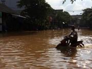 Tin tức - Mưa lớn gây ngập lụt ở Yên Bái