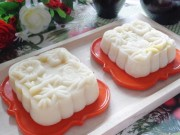 Bếp Eva - Bánh Trung thu dẻo nhân đậu xanh mứt bí