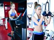 Làm đẹp - Chi Pu: Hot girl chăm tập luyện giữ dáng nhất nhì Vbiz