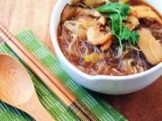 Bếp Eva - Miến nấu tôm khô lạ mà ngon