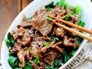 Bếp Eva - Ngon cơm với thịt bò rau cải sốt dầu hào