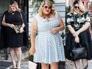 Thời trang - Tự tin mặc đẹp như nữ  BTV thời trang siêu béo