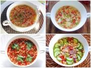Bếp Eva - 4 cách pha nước chấm cho món chiên, rán